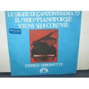 """IL MIO PIANOFORTE / VIENI VIA CON ME - 7"""" ITALY"""