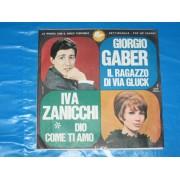 """IL RAGAZZO DI VIA GLUCK / DIO COME TI AMO - 7"""" ITALY"""