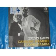CANZONE D'AMORE / L'UOMO BAMBA