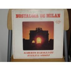NOSTALGIA DE MILAN - LP ITALY