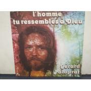 "L'HOMME TU RESSEMBLES A DIEU / LE BATEAU DE CRISTAL - 7"" FRANCIA"