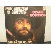 "FROM SOUVENIRS TO SOUVENIRS / SING AN ODE TO LOVE - 7"" ITALY"