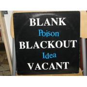 BLANK BLACKOUT VACANT - 1°st UK