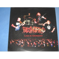 LIVE IN GERMANY / LIVE AT FUCK THE COMMERCE III - LP