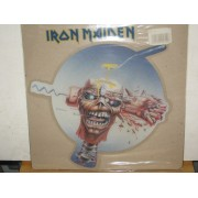 CAN I PLAY WITH MADNESS - SHAPED PICTURE DISC