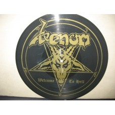WELCOME TO HELL - 1°st PICTURE DISC