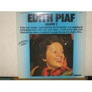 EDITH PIAF VOLUME 2 - LP FRANCIA