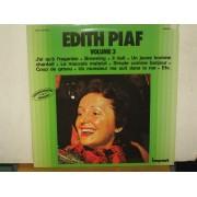 EDITH PIAF VOLUME 3 - LP FRANCIA