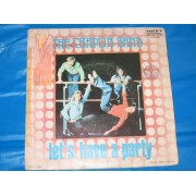 "LET'S HAVE A PARTY / DISCO PARTY CONTINUED - 7"" ITALY"