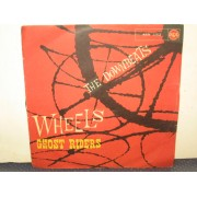 """WHEELS / GHOST RIDERS - 7"""" ITALY"""