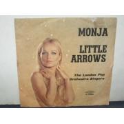 "MONJA / LITTLE ARROWS - 7"" ITALY"