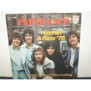 """HITCHIN' A RIDE '75 / LOVE YOU'RE A LONG TIME COMING - 7"""" GERMANIA"""
