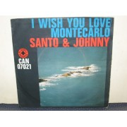 "I WISH YOU LOVE / MONTECARLO - 7"" ITALY"