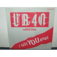 "I GOT YOU BABE / THEME FROM LABOUR OF LOVE - 7"" GERMANIA"
