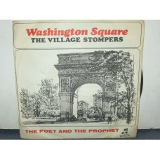"""WASHINGTON SQUARE /THE POET AND THE PROPHET - 7"""" ITALY"""