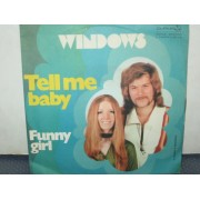 """TELL ME BABY / FUNNY GIRL - 7"""""""