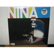 NINA SIMONE AT TOWN HALL - 180 GRAM