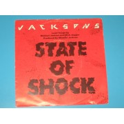 "STATE OF SHOCK / YOUR WAYS - 7"" ITALY"