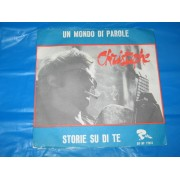 """UN MONDO DI PAROLE / STORIE SU DI TE - 7"""""""