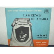 LAWRENCE OF ARABIA / OBA ! BOSSA NOVA - PERCY FAITH
